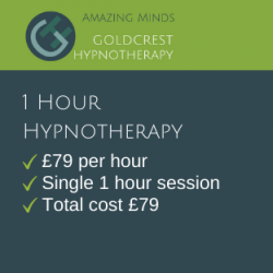 1 hours Hypnotherapy Package Price Goldcrest Hypnotherapy