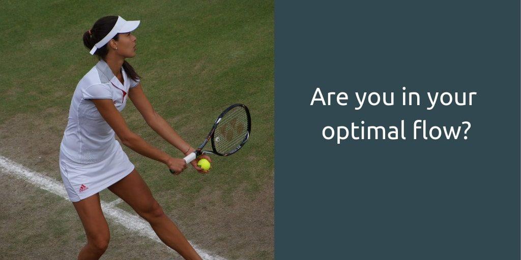 champions winning mindset - optimal flow
