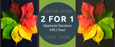 AUTUMN 2 FOR 1 special offer Goldcrest Hypnotherapy