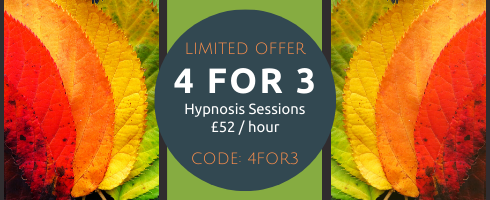 AUTUMN 4 FOR 3 special offer Goldcrest Hypnotherapy