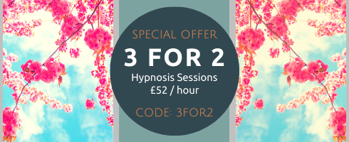3 FOR 2 special offer Goldcrest Hypnotherapy