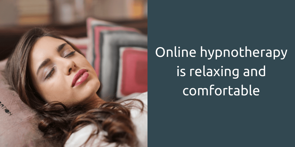 online hypnotherapy relaxing and comfortable Goldcrest Hypnotherapy