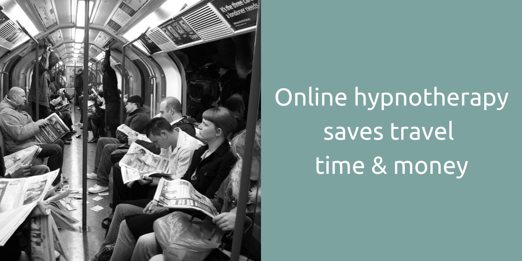 online hypnotherapy save travel time and money Goldcrest Hypnotherapy