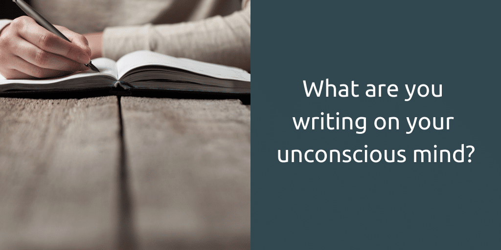power of unconscious mind write unconscious mind